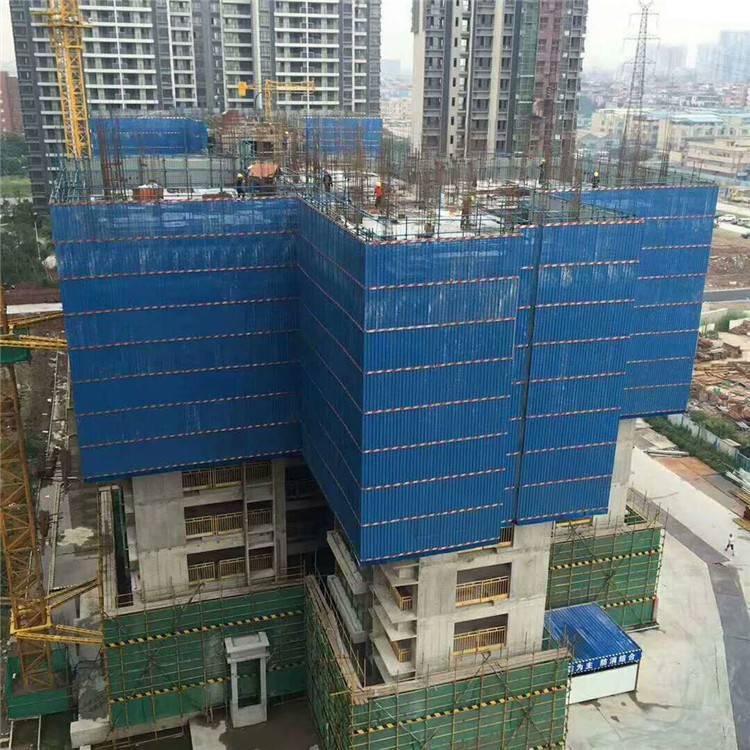 圆孔爬架网 冲孔板爬架网 冲孔板防护网 建筑安全钢质爬架网 冲孔网