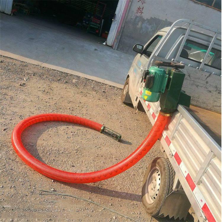 运粮效果好电动吸粮机 软管绞龙吸粮机 出售电动抽粮机