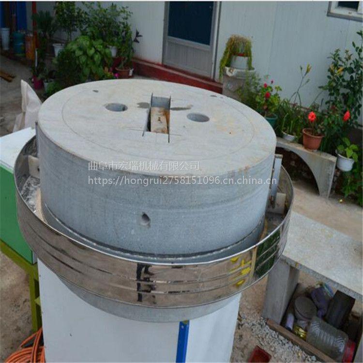 家用面粉石磨机 玉米面石磨机 小型磨面粉机价格 6