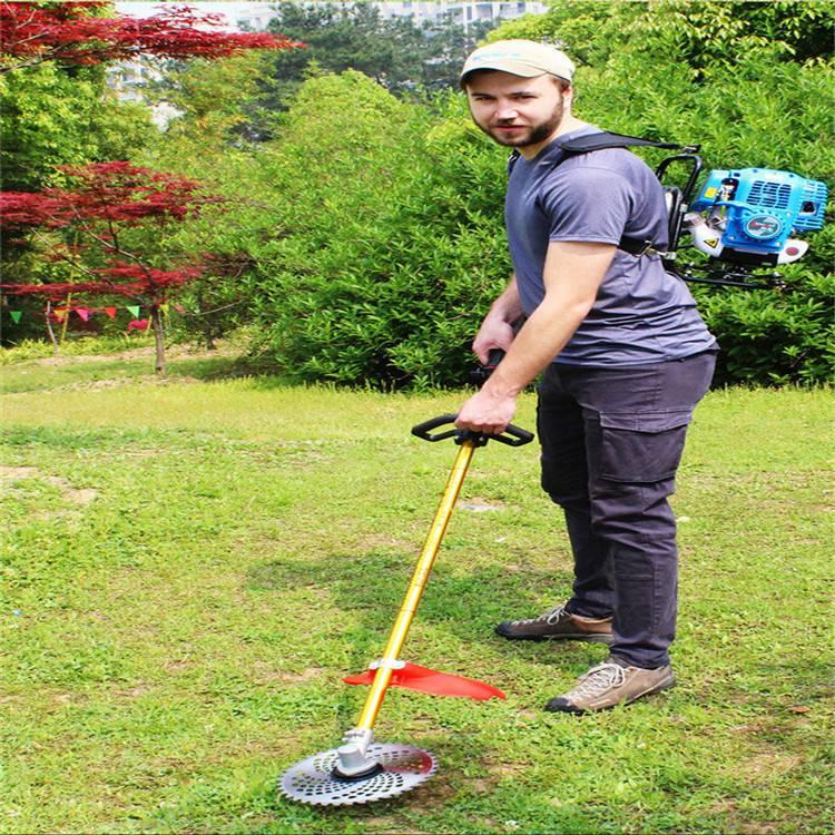 农田小型打草机 合金刀片割草机