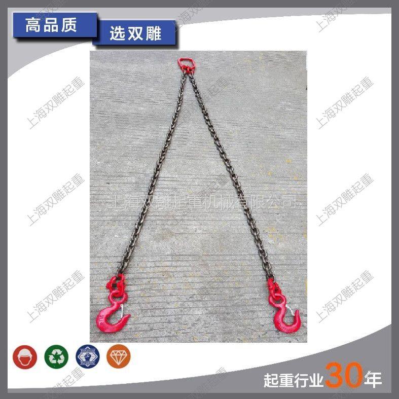 厂家直销 G80起重链条 吊索具 单腿双腿四腿链条 吊具起重吊链模具吊