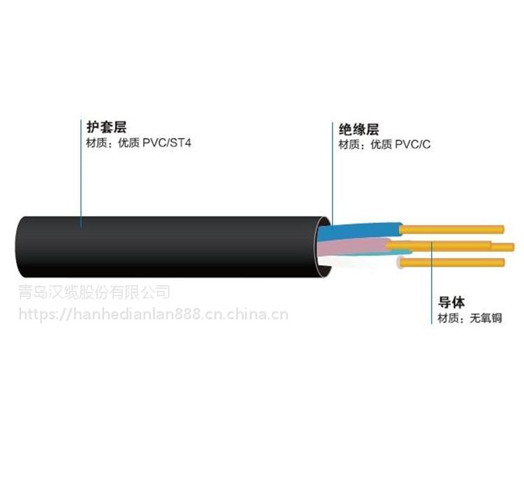 青岛汉河电缆绝缘用电缆厂家价格