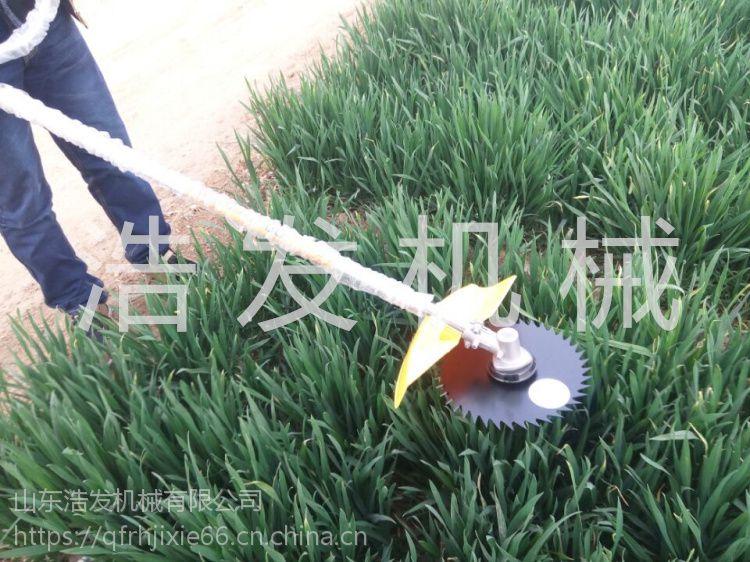 麦草水稻收割机 汽油式割草机