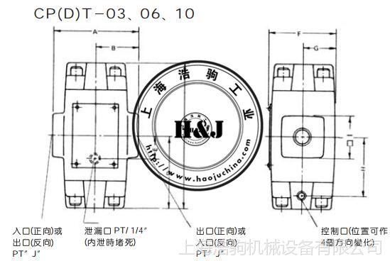 液控单向阀CPT-03台湾康百世KOMPASS