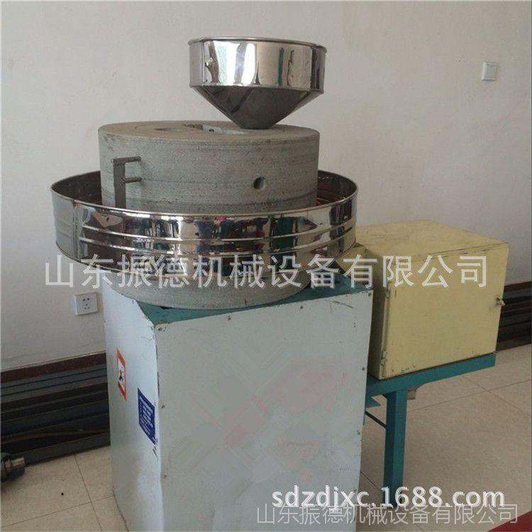 商用面粉加工石磨机 多用途粗粮面粉机 电动石磨面粉机 振德供应