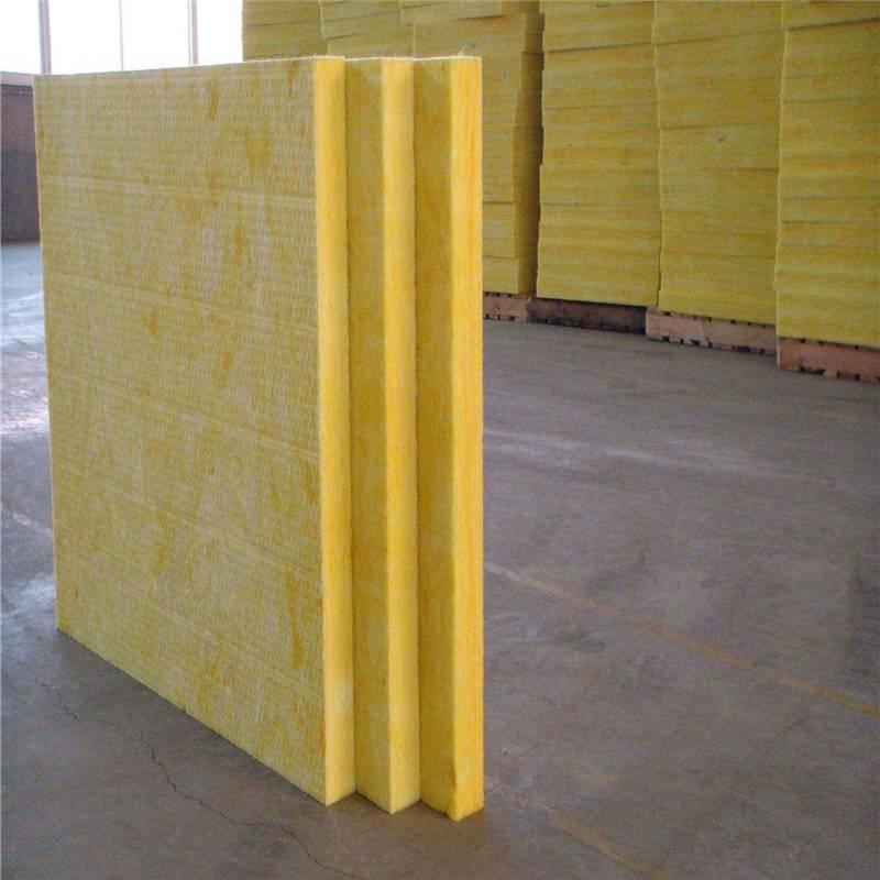 供应商阻燃玻璃棉卷毡 吸音降噪玻璃棉板质优价廉