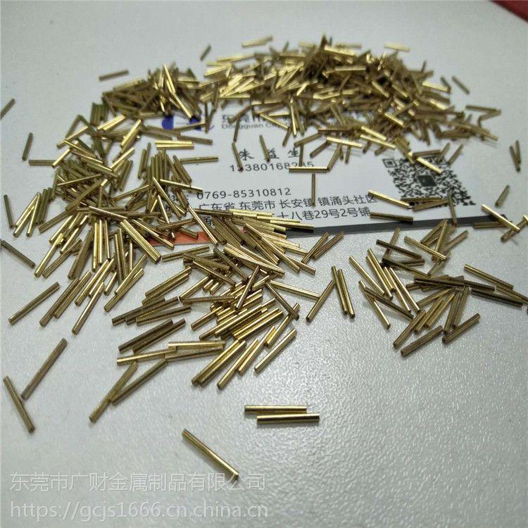 现货H65黄铜毛细管耐磨黄铜套合金材 精密线切割无毛刺