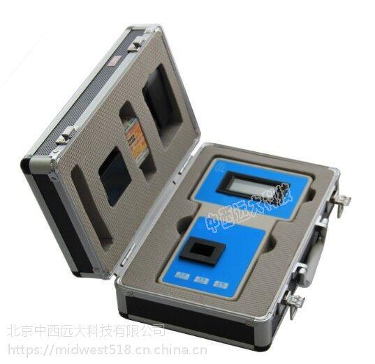 中西 便携式余氯检测仪(0-2.5mg/L)库号:M181856 型号:SH-YL-1AZ