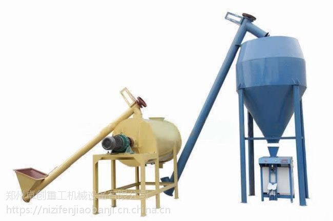 贵州铜仁干混砂浆腻子粉混合机应用和优点