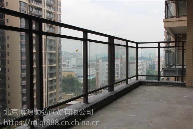 漯河锌钢阳台护栏,HC漯河组装护窗栏杆,玻璃阳台护栏,Q235锌合金飘窗围栏