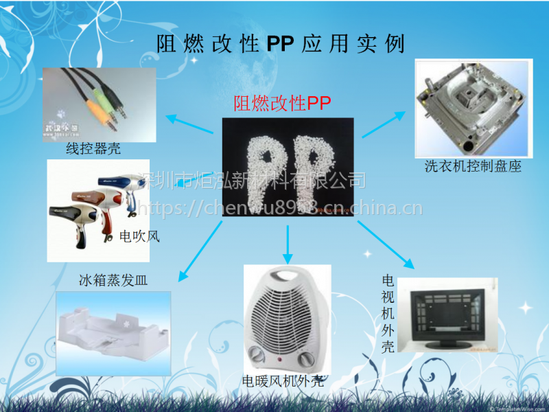 填充耐热PP,低收缩,电饭煲外壳PP原料 深圳炬泓PP-FR-3G玻纤增强