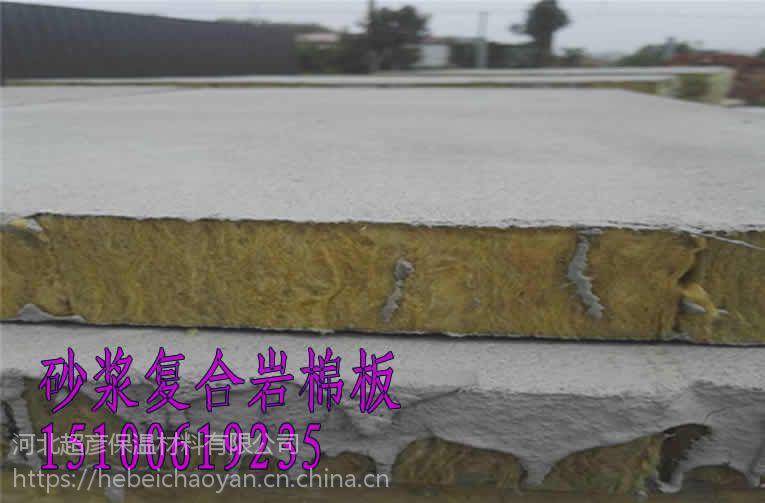 岩棉复合板-保温材料-A级阻燃保温岩棉板厂家