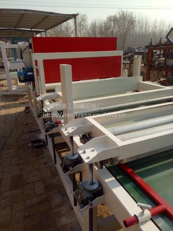 大型水泥砂浆岩棉复合板生产线 省人工高效率大城美工