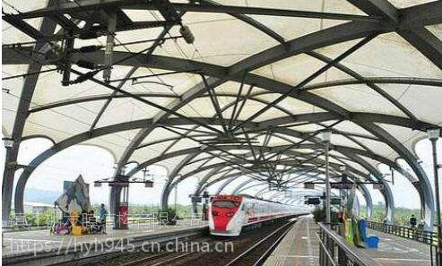 常州膜结构公交站,无锡膜结构火车站制作安装