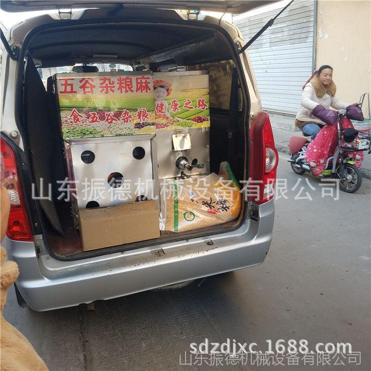 四川 暗仓10用杂粮膨化机集市流动型玉米空心棒机振德汽油膨化机