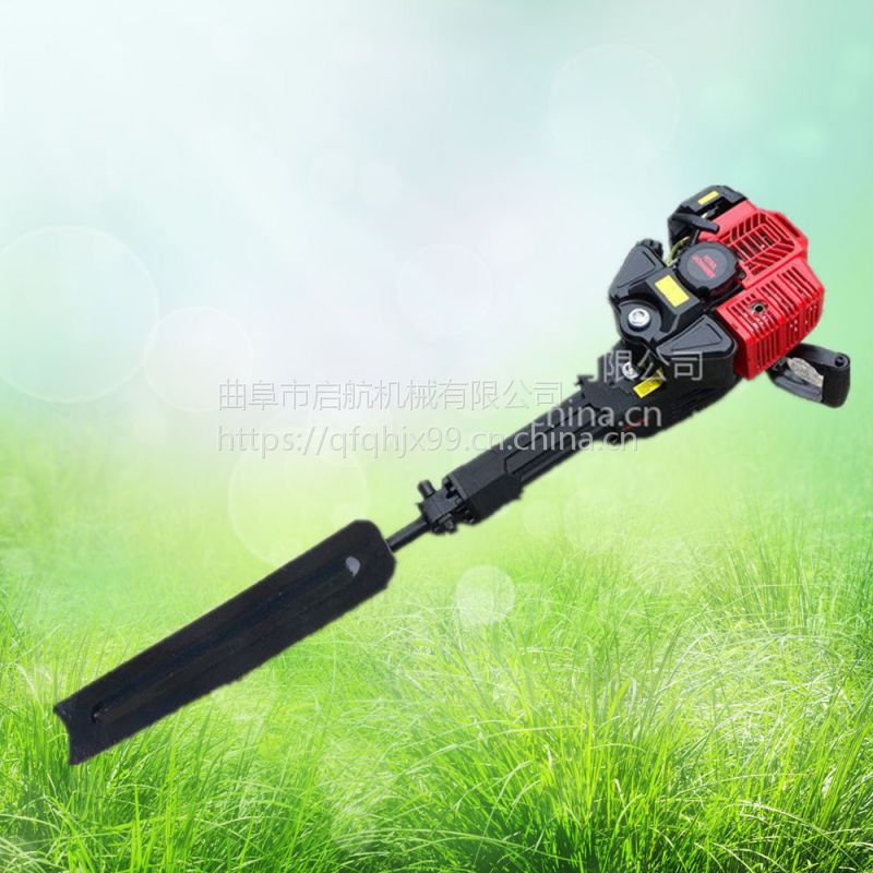 铲头式小树苗起球机 铲树断根挖树机 汽油园林移苗机
