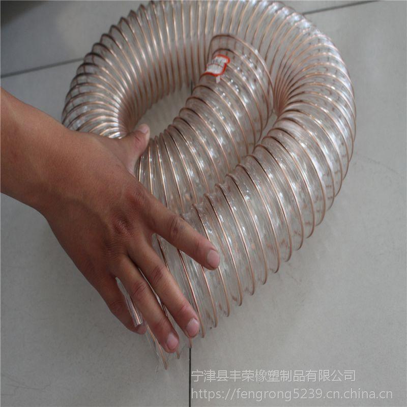 厂家直销 PU塑筋软管 耐高温 耐腐蚀
