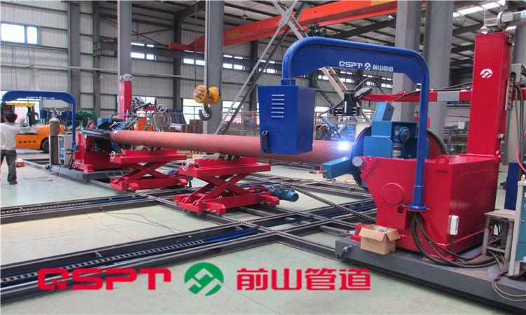 上海前山管道 供应管道预制组对焊接中心(卡盘+卡盘)