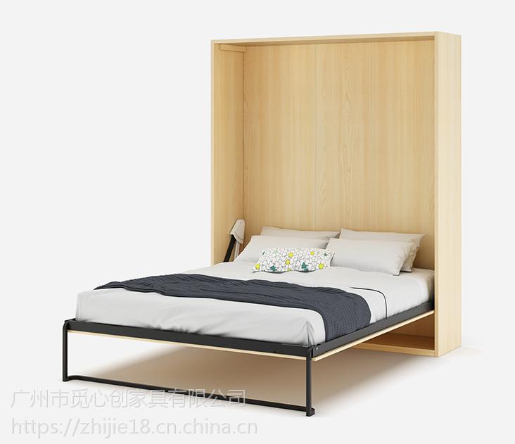 隐形床 多功能竖翻隐形床五金 一件代发智节隐形床家具