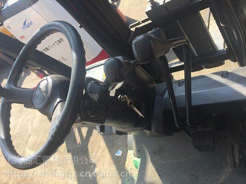 供应质量三包丰田电瓶叉车二手进口电动叉车