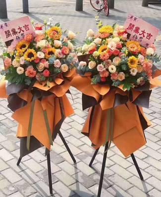 南宁国贸购物中心开业花篮15296564995国贸购物中心庆典开张花篮预订