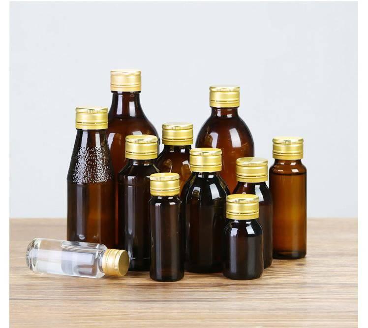 林都现货供应100毫升棕色玻璃药瓶