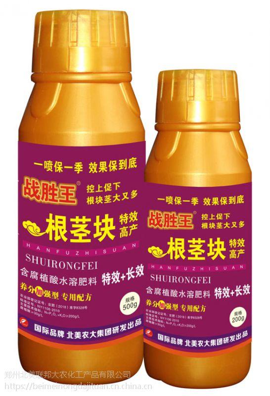 战胜王根茎块特效高产500g*20瓶抑制叶斑炭疽根腐褐腐病等包邮