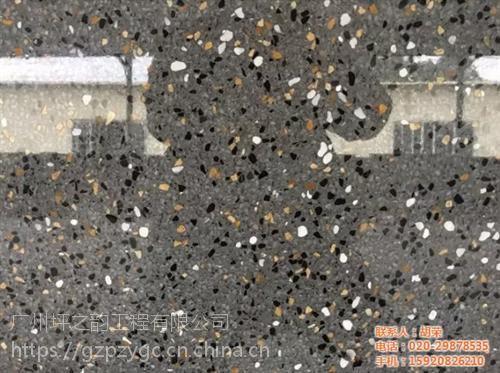水磨石地坪价格|湛江水磨石地坪|坪之韵