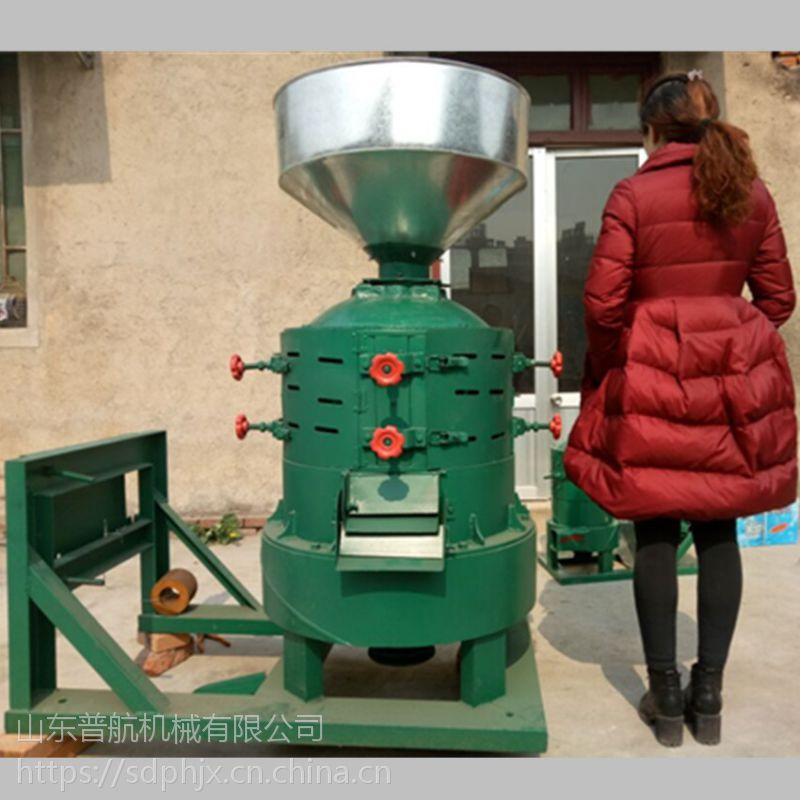 普航小型去壳碾米机 大产量黄豆脱皮机 沙克龙大豆去壳碾米机 价格