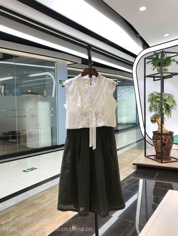 GXG旗下潮牌女装BUITTIFEI夏装尾货批发走份 品牌折扣店货源