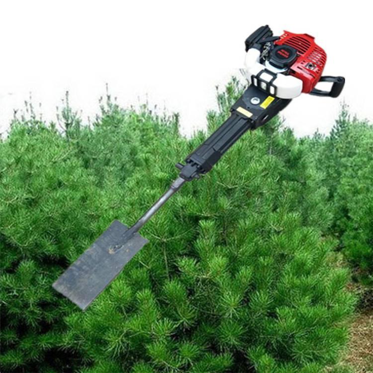 新款铲头挖树机 4.8汽油挖树机 圣鲁牌