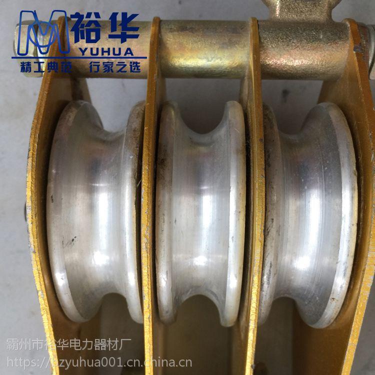 高铁电力专用QHN1-1K 铝板尼龙轮起重滑车