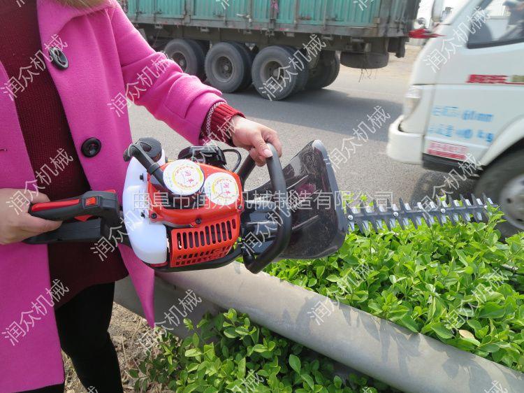 环保低油耗绿篱机 高品质动力绿篱剪 专业剪树机