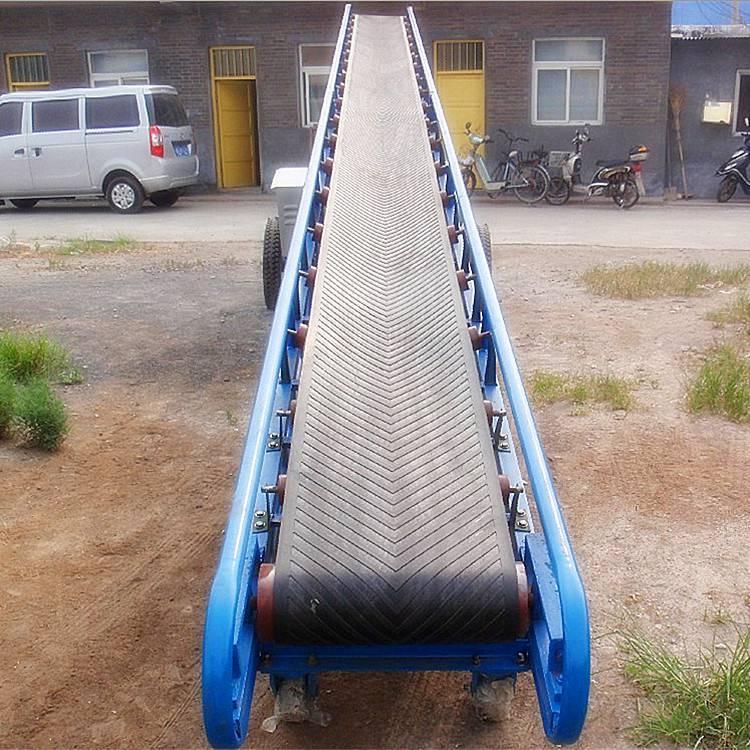 [都用]蒜薹装车输送机 移动式大蒜输送机 小型折叠式皮带机