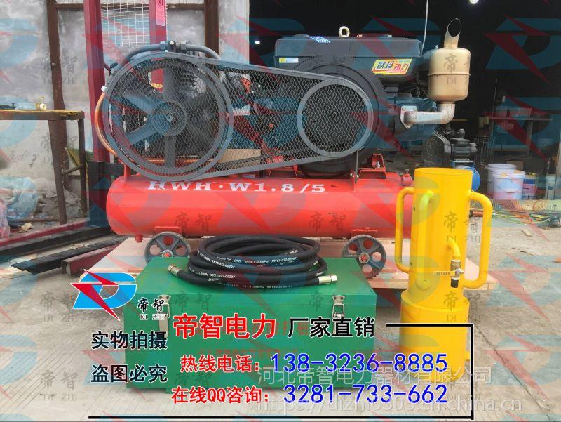 便携式打桩机厂价直销---河北帝智防汛打桩机规格
