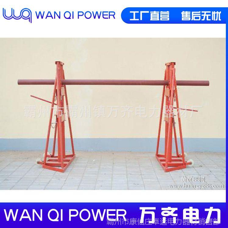 线缆螺旋式放线架 加固型电缆放线架 5吨龙门式电缆盘放线架