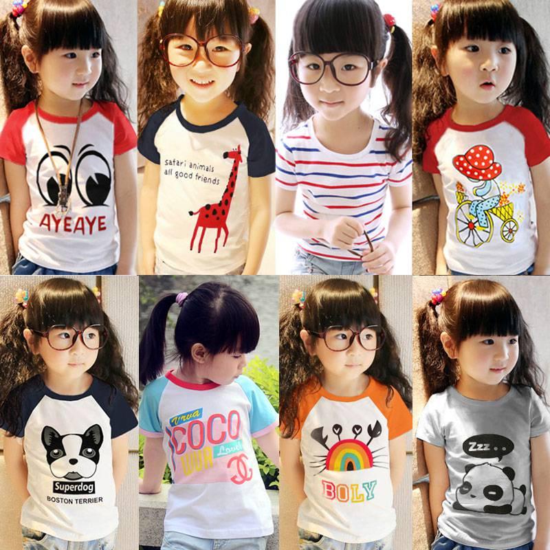 贵州童装批发厂家直销儿童时尚套装短袖衫批发