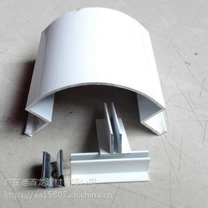 加油站顶棚天花_R60铝圆角_包柱铝板