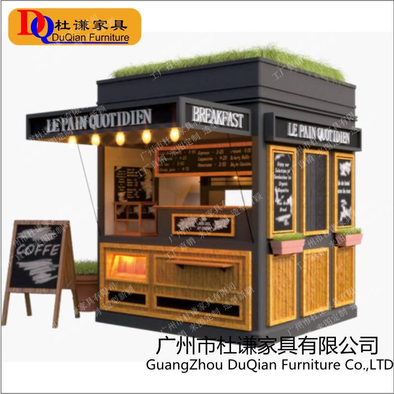 顺德碧桂园欢乐世界 游乐园售货车奶茶小吃售货亭