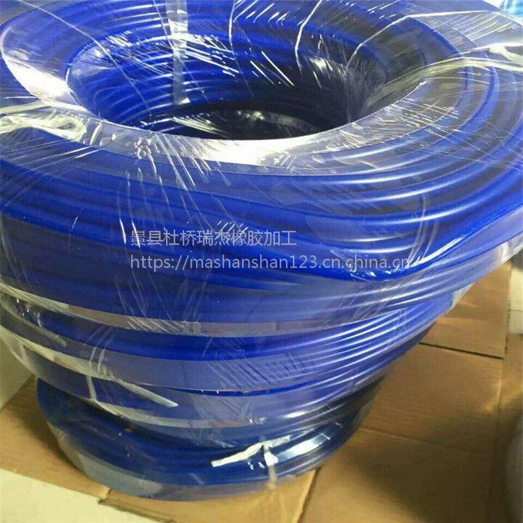 瑞杰供应硅橡胶 制品异形硅胶条 圆形m6硅胶条