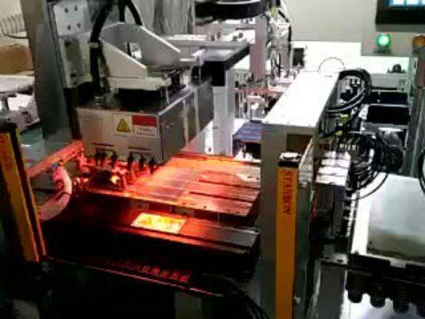 斯美尔光电太阳能板焊接设备