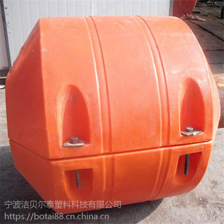 抽沙疏浚用管道浮体聚乙烯夹管浮桶价格