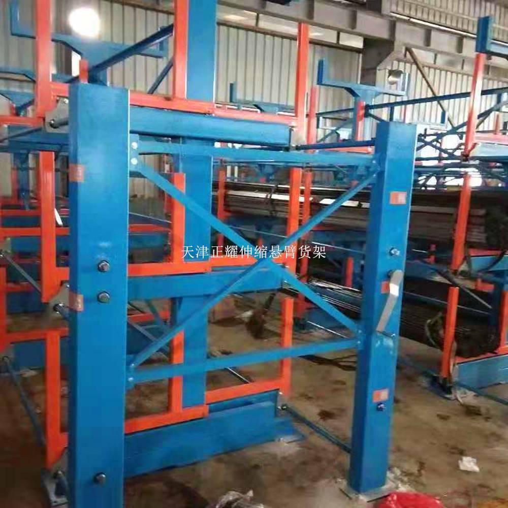 悬臂货架原材料 先进悬臂式货架设计要求 广州管材仓库
