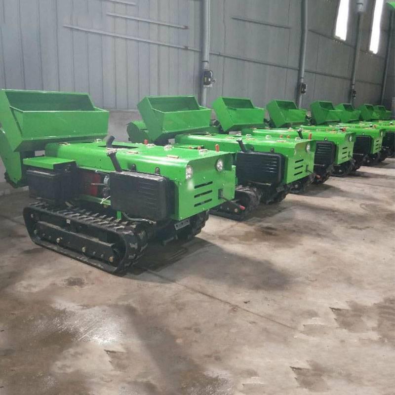 各种地形都适合施肥机 启航履带式回填机 爬坡能力强开沟机