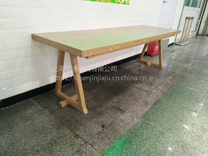 浙江杭州美食城CJ-40桌椅,简约现代美食城桌椅组合