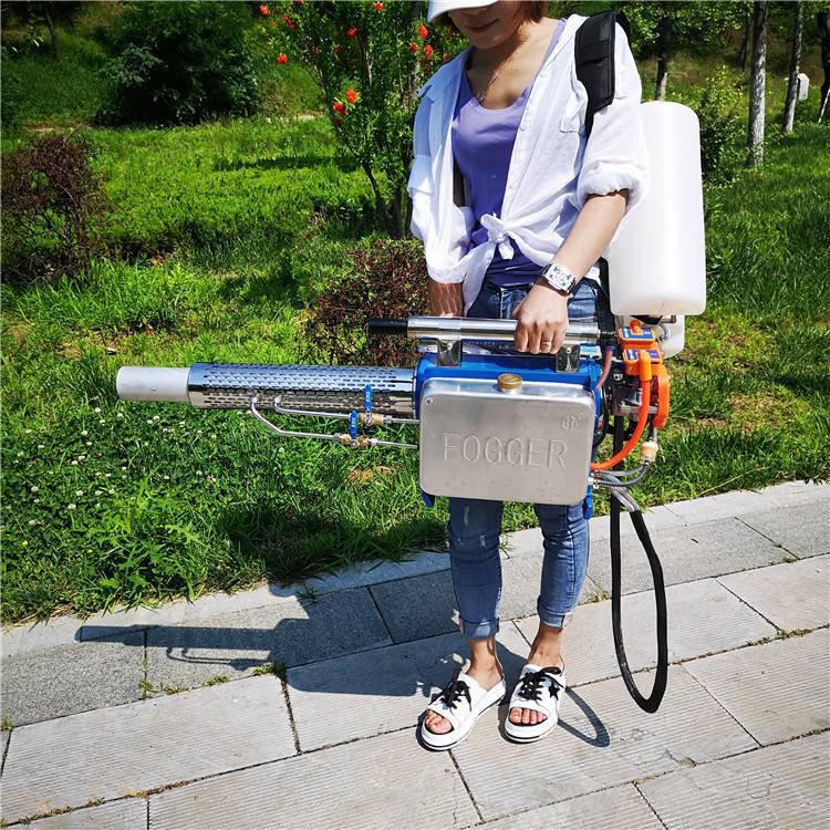 热销脉冲式桃树打药机肩挂手提式喷雾器家用农田小型弥雾机