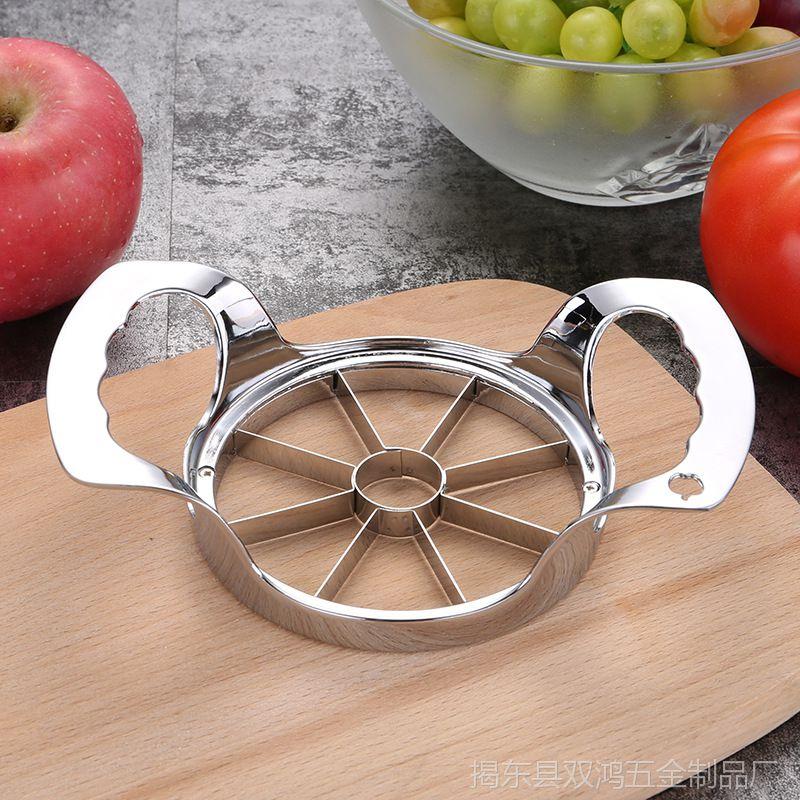 304不锈钢苹果切片器 锌合金切分割器 切果器去核器厨房小工具