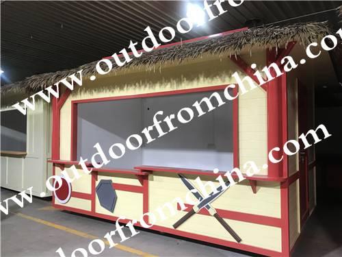 宜宾广场售货亭游乐园木制小卖部商业街手推车商铺