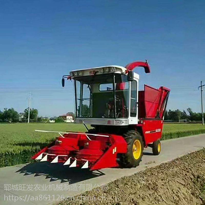 旺发机械生产玉米秸秆黄储机 青草收割机 青饲料青储机