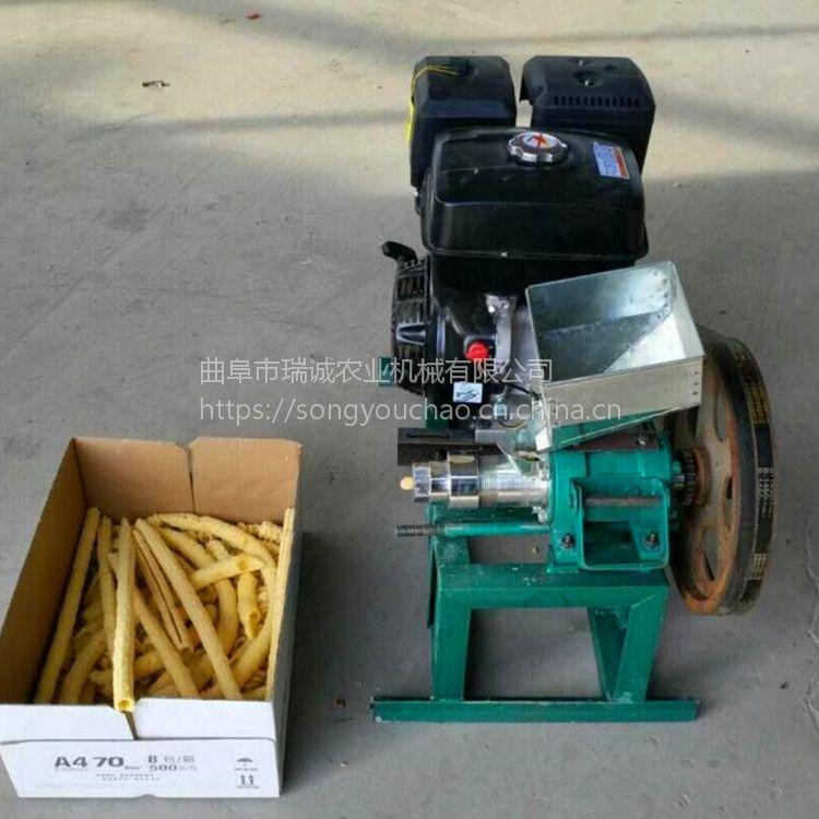 瑞诚自产 玉米麻花膨化机 多功能大米食品膨化机